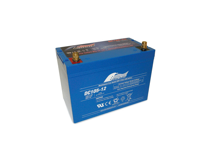 100 ah solar battery