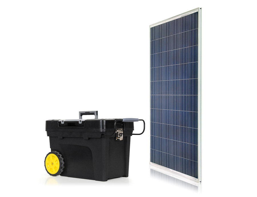 Emergency Portable Solar Generator