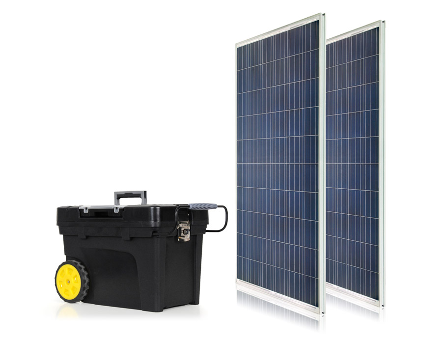 USA Built Portable Solar Generator